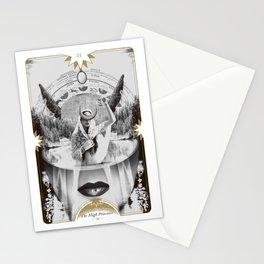 II. High Priestess Stationery Cards