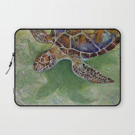 Caribbean Sea Turtle Laptop Sleeve