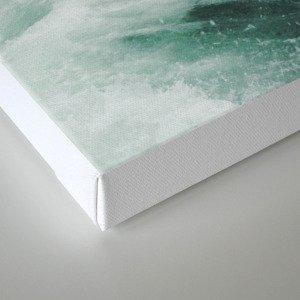 Montaña Wave Canvas Print