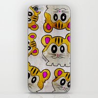 rap iPhone & iPod Skins featuring Rap Rats by EarlyHuman
