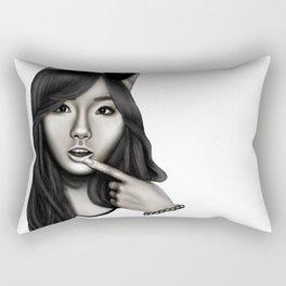 Digital Portrait -Taeyeon Rectangular Pillow