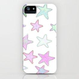 Funky Pastel Stars! iPhone Case