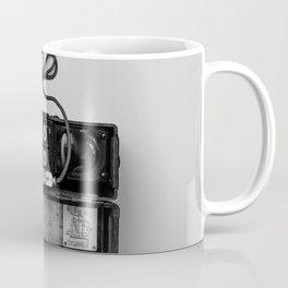 Antique Phone (Black and White) Coffee Mug