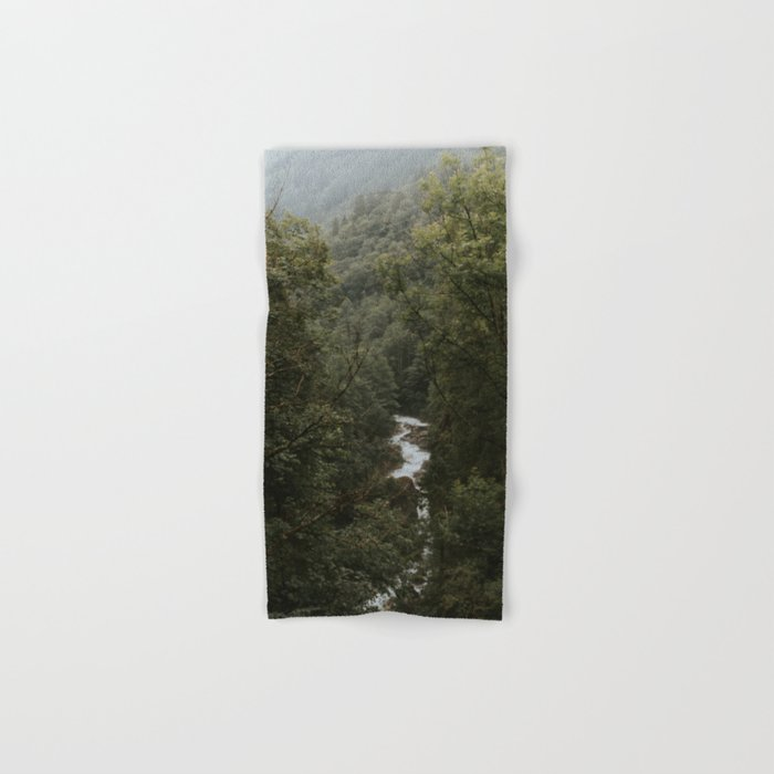 Forest Valley River - Landscape Photography Hand & Bath Towel