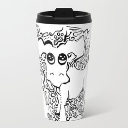 Moose Lineart Travel Mug