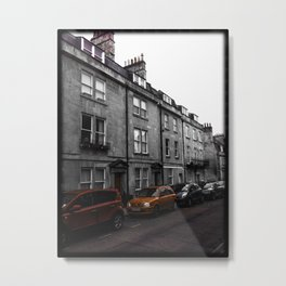A Street in Bath Metal Print