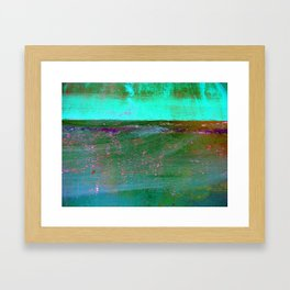 Obscured in the Mist Framed Art Print