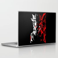 naruto Laptop & iPad Skins featuring Naruto by offbeatzombie