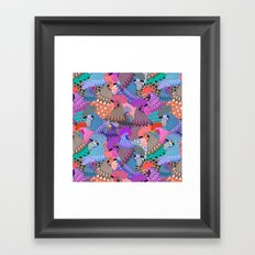 State Fair Poultry Barn Framed Art Print