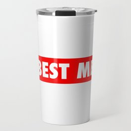 Best Me Fitness Gym Workout Motivational Travel Mug
