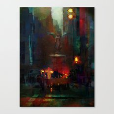 Bethesda Fountain Canvas Print