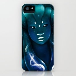 Jellyfish Queen iPhone Case