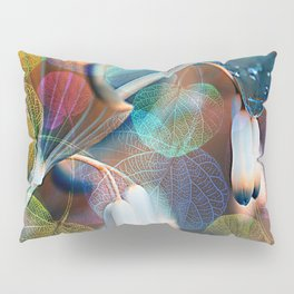 Floral abstract(48). Pillow Sham