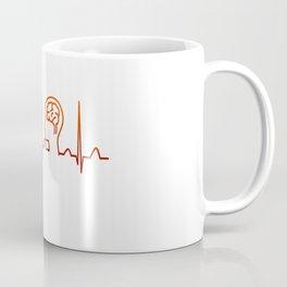 Neurologist Heartbeat Coffee Mug
