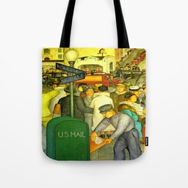 The Mail is always Delivered Tote Bag