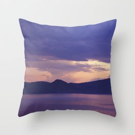 Lake 3 Throw Pillow