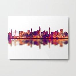 Bari Italy Skyline Metal Print