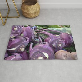 Purple people eater Rug