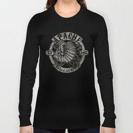 Apache Sereng (Malaysia Biker Gang Logo) Long Sleeve T-shirt