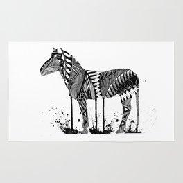Melting Zebra Rug