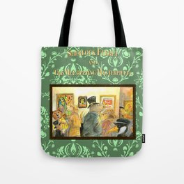 Sherlock Ferret and the Multiplying Masterpieces (cover) Tote Bag