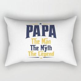 PAPA The Man The Myth The Legend Rectangular Pillow