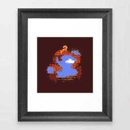 Brick Breaker Framed Art Print