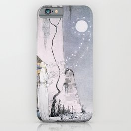 East of the Sun and West of the Moon - The Lassie & her Grandmother iPhone Case