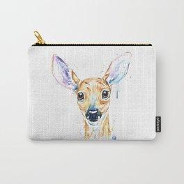 Peekaboo Deer Carry-All Pouch