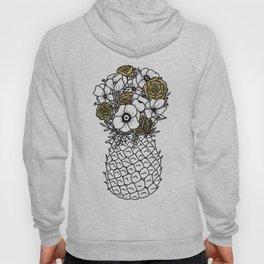 Pineapple Bouquet Gold Hoody