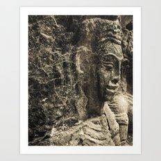 Angkor Thom Art Print