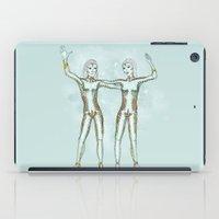 gemini iPad Cases featuring Gemini by Vibeke Koehler
