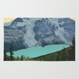 Mount Robson Provincial Park Rug