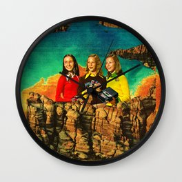 Flashback Wall Clock