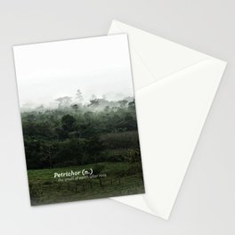Petrichor (Smell of earth after rain) Stationery Cards