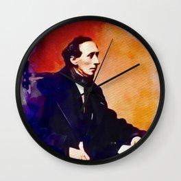 Hans Christian Andersen, Literary Legend Wall Clock