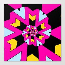 Trippy Spiral Pattern Canvas Print