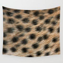 """""""Pop Safari 02 Leopard"""" Wall Tapestry"""
