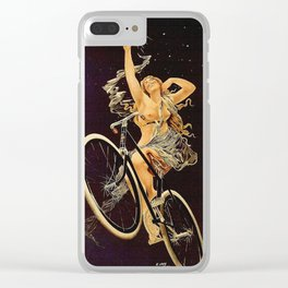 Vintage 1899 Cycles Sirius Bicycle Ad Clear iPhone Case