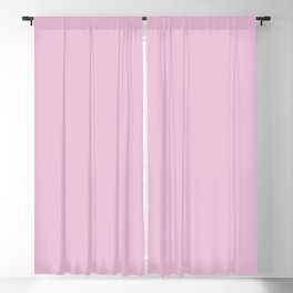 Take it Easy ~ Pink Elephant Blackout Curtain