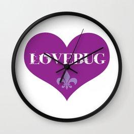 Lovebug Wall Clock