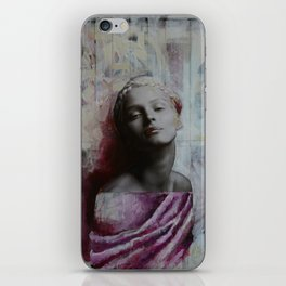 Painted Statue iPhone Skin