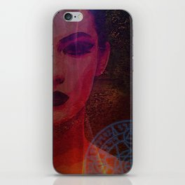 Dark Lady of the Forest of the Damned iPhone Skin