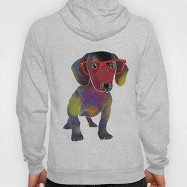 hipster dachshund Hoody