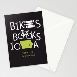 Bikes Books Iowa Stationery Cards