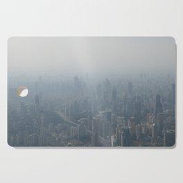 fade to gray (Shanghai) Cutting Board