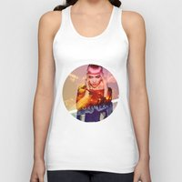 grimes Tank Tops featuring GRIMES by OmaPRINTS