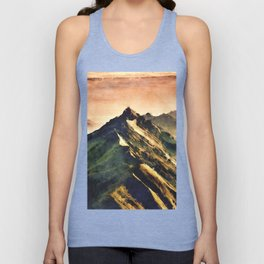 Mountains In The Clouds Unisex Tank Top