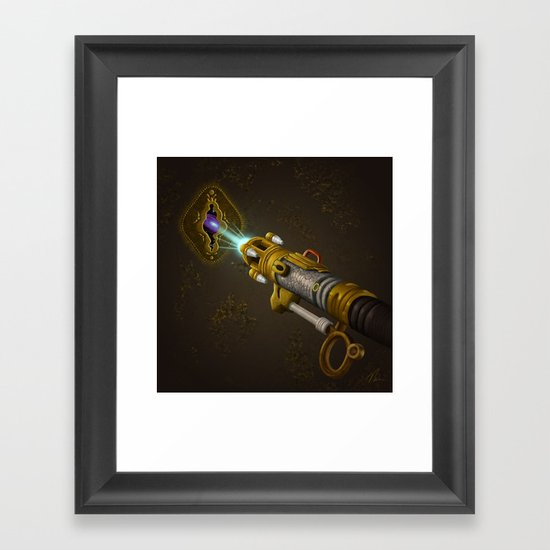Key To The Universe - Painting Framed Art Print