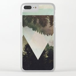 Fractions C03 Clear iPhone Case